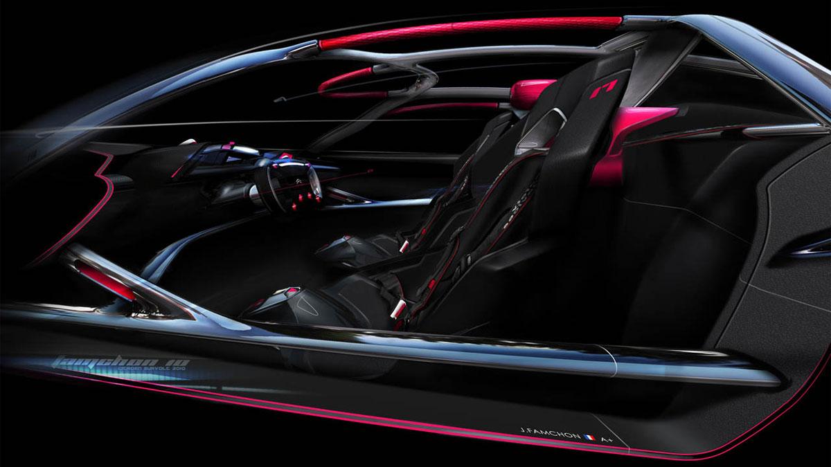 Citroen Concept Interior